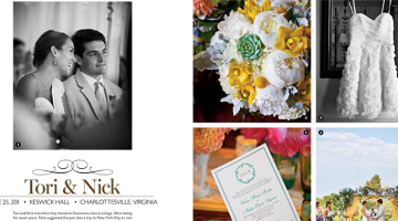 Tori & Nick's Wedding Featured in Southern Living Magazine