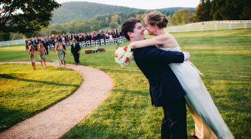 Katie & Rob's Wedding at Charlottesville's Castle Hill Cider