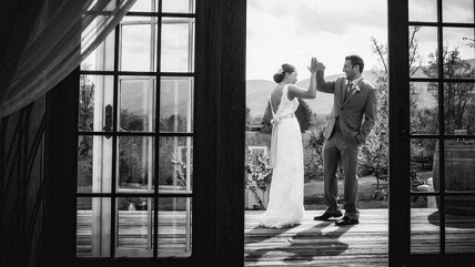 Cristin & Nima's Wedding at Veritas Vineyard