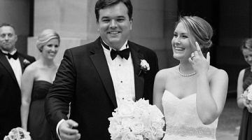 Kaitlyn & Mark's Wedding at the Mellon Auditorium