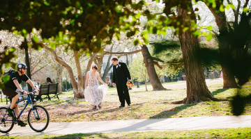 Julie & Michael's Wedding at Congressional Cemetery