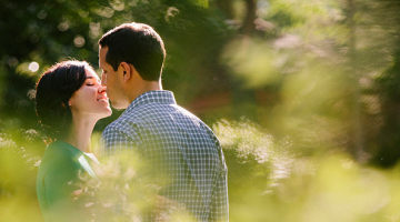 Lindsey & Rob's Boulder County Fair Engagement Session