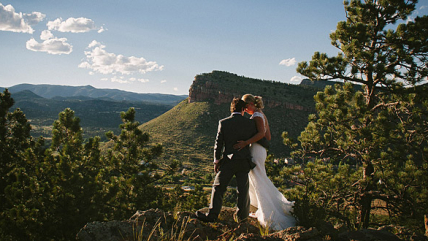 Laura & Gavin's Wedding at Lionscrest Manor in Lyons, Colorado