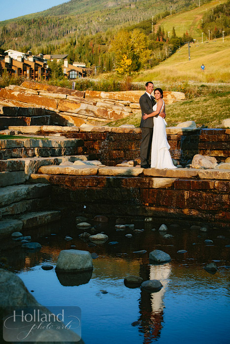 Portraits for L&R's Steamboat Springs wedding
