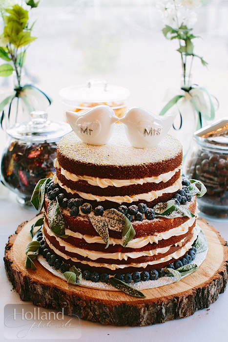 Another cake at L&R's wedding at Steamboat Springs