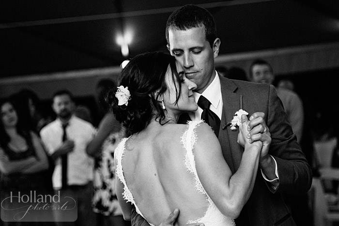 First dance at L&R's Steamboat Springs wedding