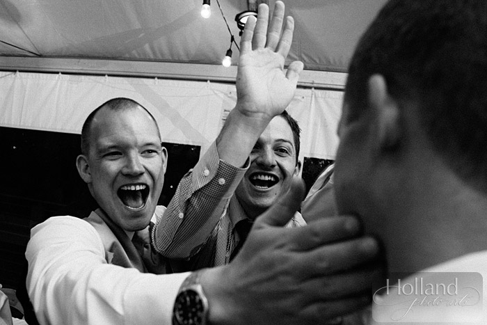 Celebration at L&R's Steamboat Springs wedding