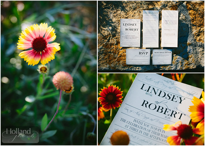 Stationery for L&R's Steamboat Springs wedding