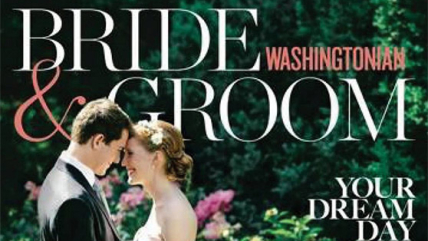 Alison & Jasper on the COVER of Washingtonian Bride and Groom magazine!