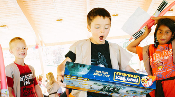 Bobby's Star Wars Themed 6th Birthday Party
