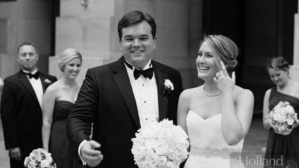 Kaitlyn & Mark's Mellon Auditorium Wedding Featured on ModWedding!