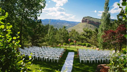 Laura & Gavin's Wedding Featured in Rocky Mountain Bride