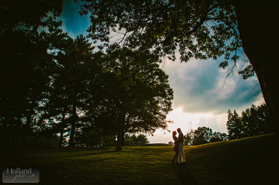 Engaged! with Katie & Crispin at Columbia Country Club