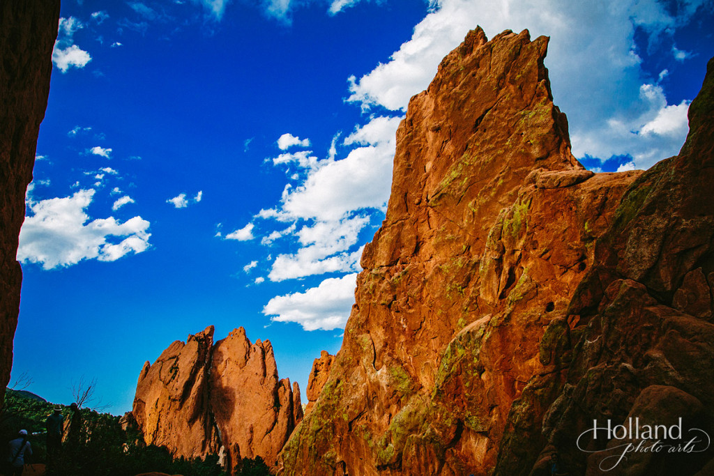 One of the main rock formations at Garden of the Gods