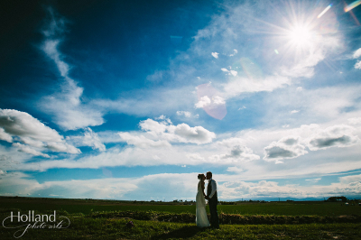 Katie & Dustin's Colorado Plains Wedding