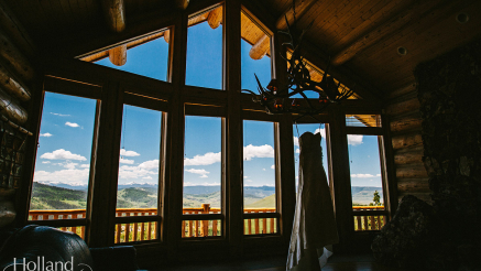 Maddie & Nick's Rocky Mountain Wedding at a Private Estate