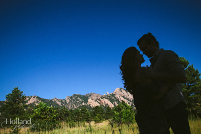 Tricia & Ian's Boulder Foothills Engagement Session