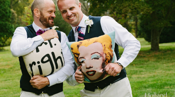 Ryan and Ryan's Virginia Wedding at Rosemont Manor